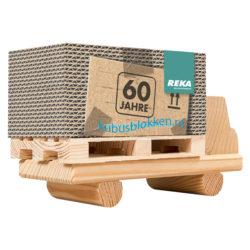 houten vrachtwagen met palletblok