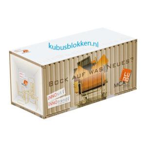 kubusblok vorm container
