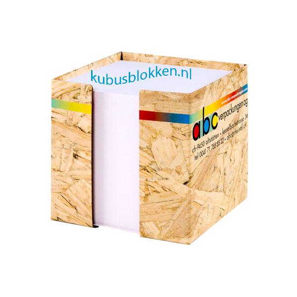kubusblokken bestellen in diverse vormen