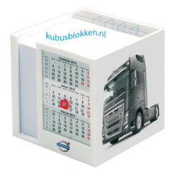 kubushouder met kalender