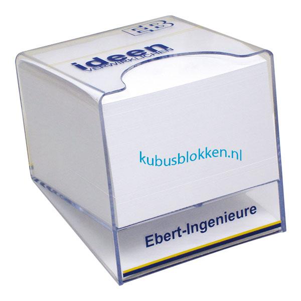 transparante kubushouder