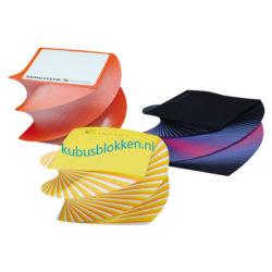 spiraalblokken in kleuren